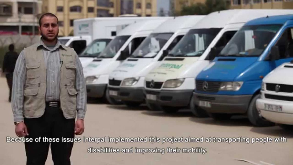 The 'Disabled Outreach Bus' project – Improving the lives of disabled people in Gaza