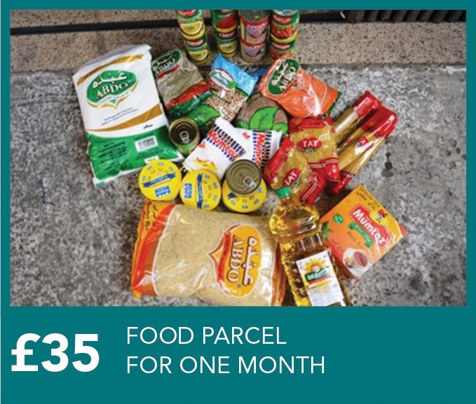 £35 Food Parcel for a family for one month