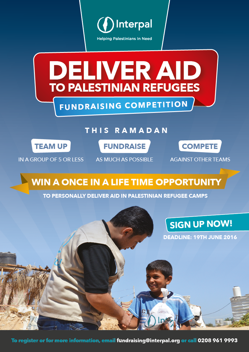 Chance to join an Interpal delegation to Palestinian refugee camps