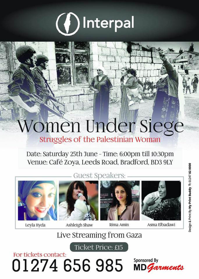 Event: Women Under Siege, Bradford