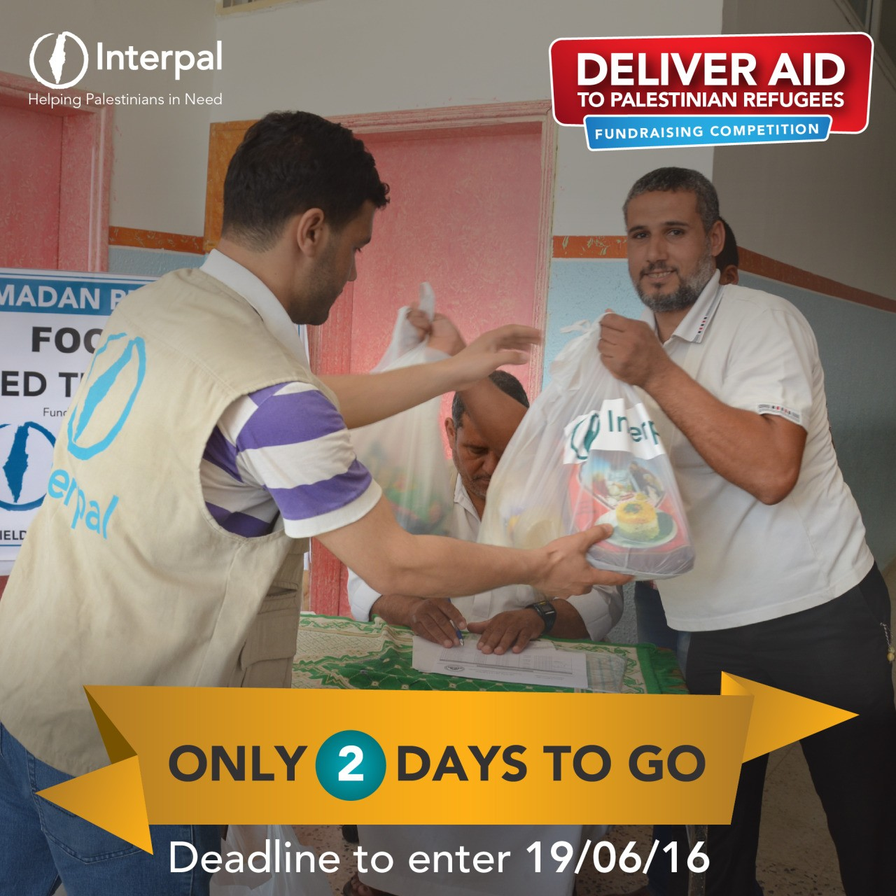 Only 2 days left – Deliver Aid to Palestinian Refugees