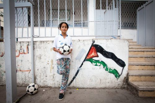 CADFA Palestinian Girls' Football Team