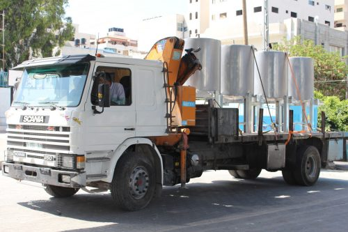 Supporting Access to Clean Drinking Water in Gaza's Schools