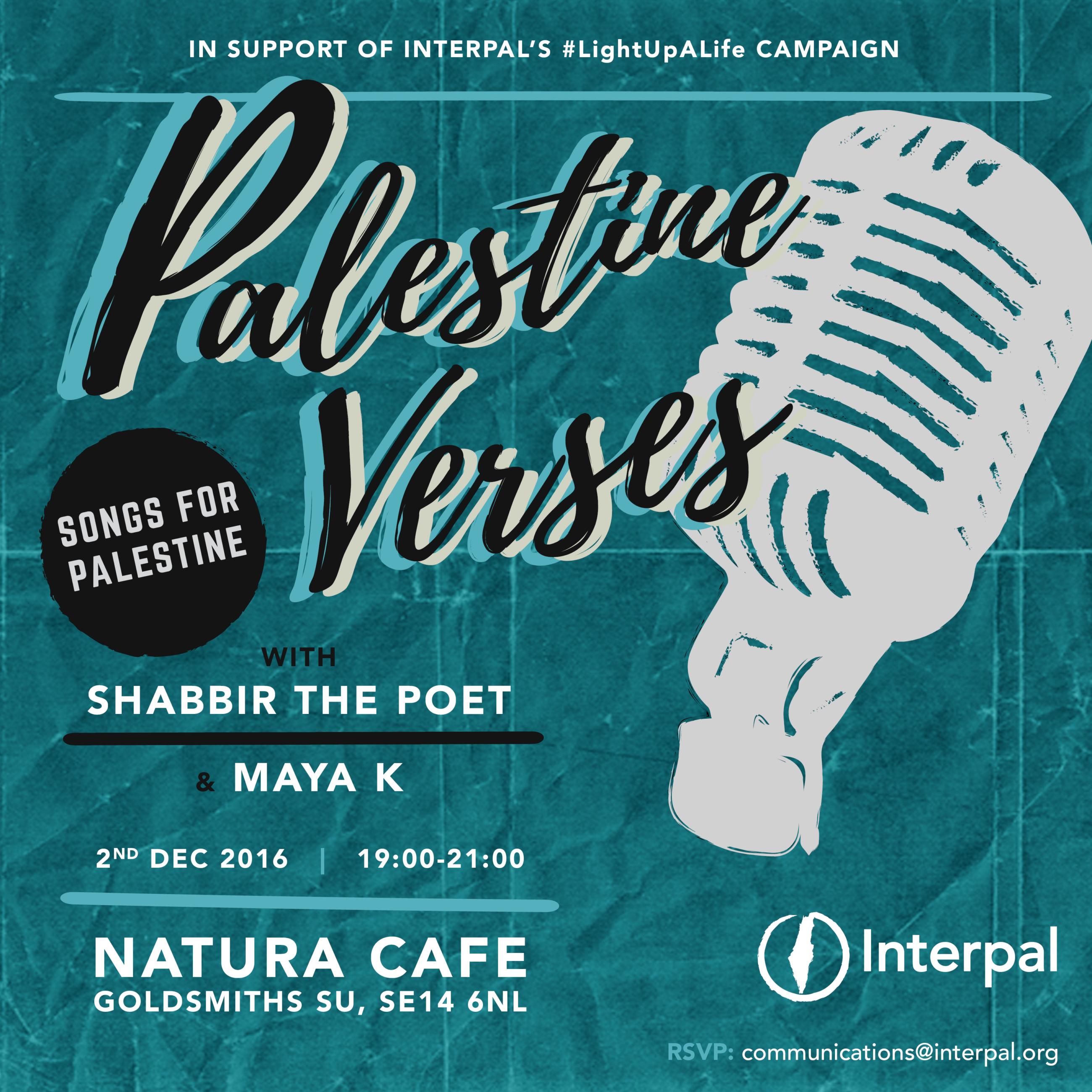 Palestine Verses: Songs for Palestine