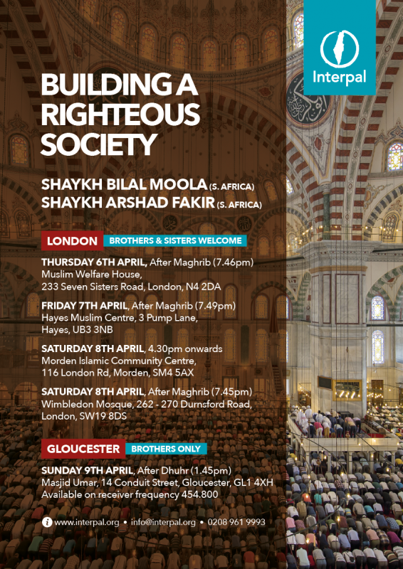 Building a Righteous Society