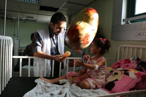 Providing a lifeline for Palestinian children living with disabilities