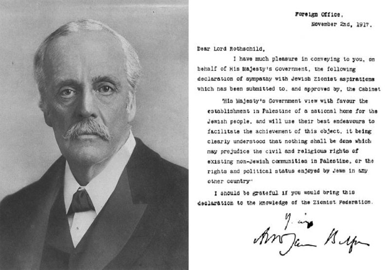 After Balfour: the legacy of British policy in Palestine