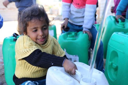 What is causing the water crisis in Gaza?