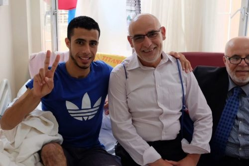Butterfly Bullets and Hospital Beds: Meeting injured Palestinians in Turkey