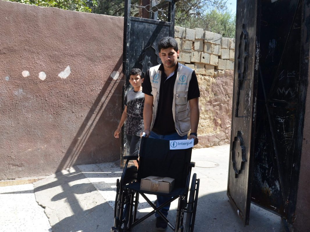 In pictures: wheelchairs for people with disabilities in Gaza
