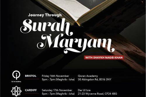 Journey through Surah Maryam - Bristol