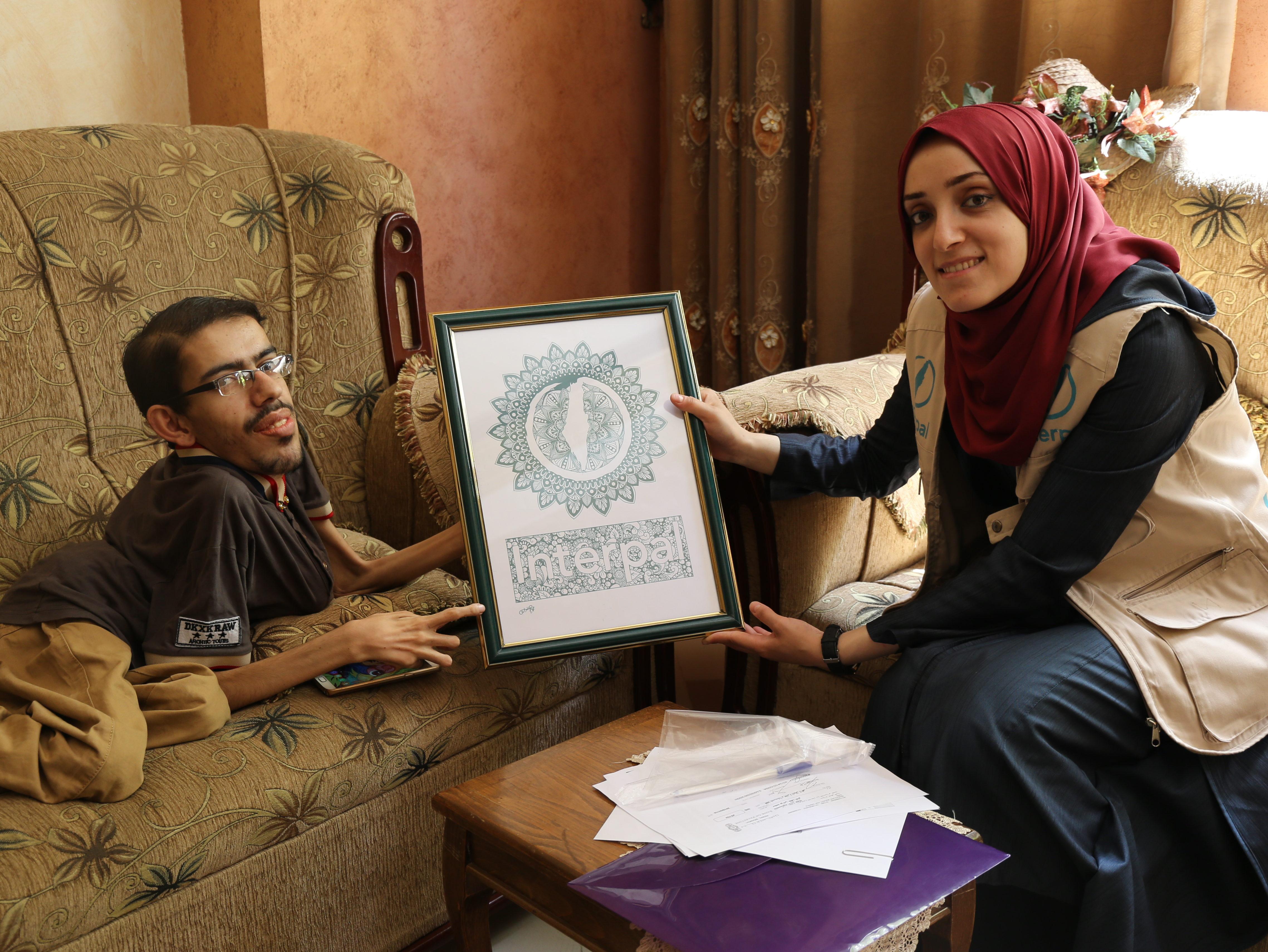 The art of breaking barriers in Gaza
