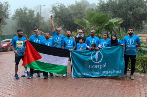 Marrakech Marathon 2019: Team Interpal race for Palestine
