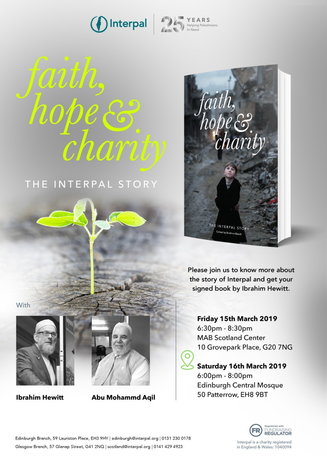 Book Tour – Edinburgh