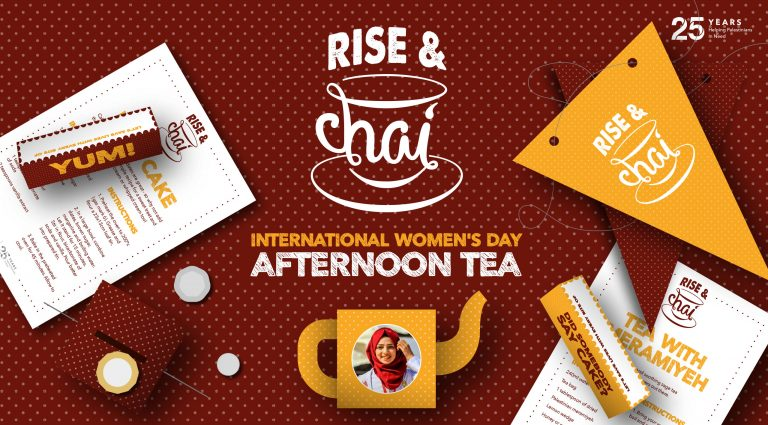 Rise & Chai banner - Interpal - International Women's Day