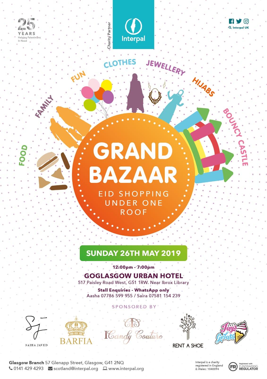 Grand Bazaar for Palestine