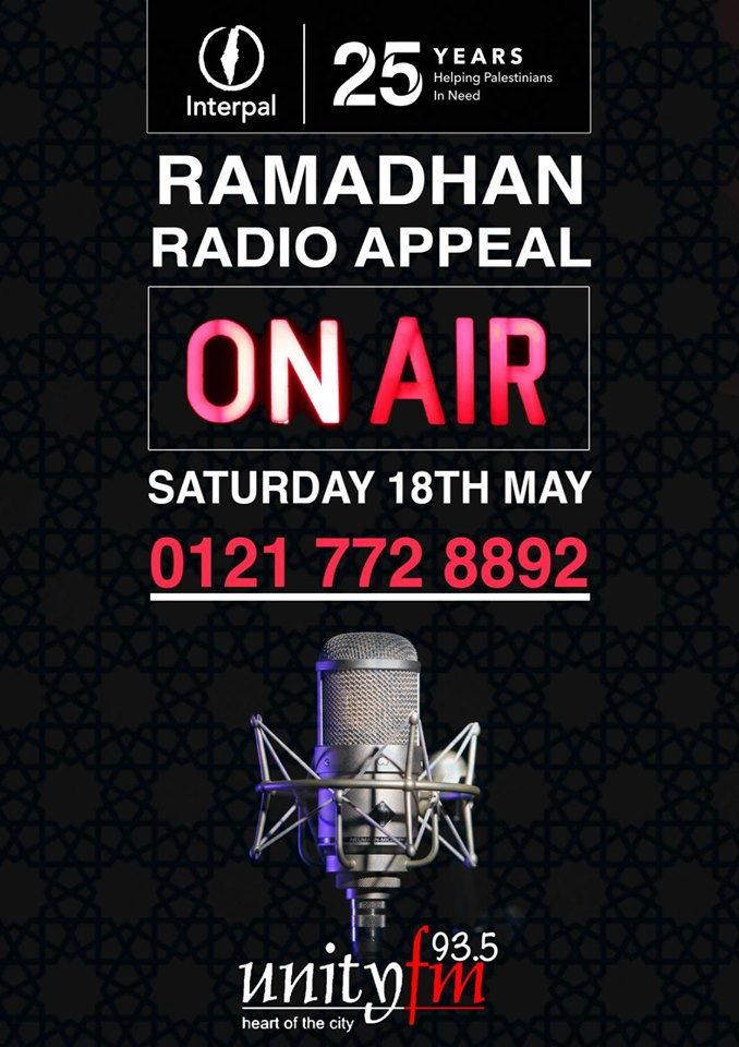 Ramadhan Radio Appeal with Unity FM