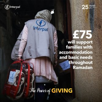 £75 will support families with accommodation and basic needs throughout Ramadan