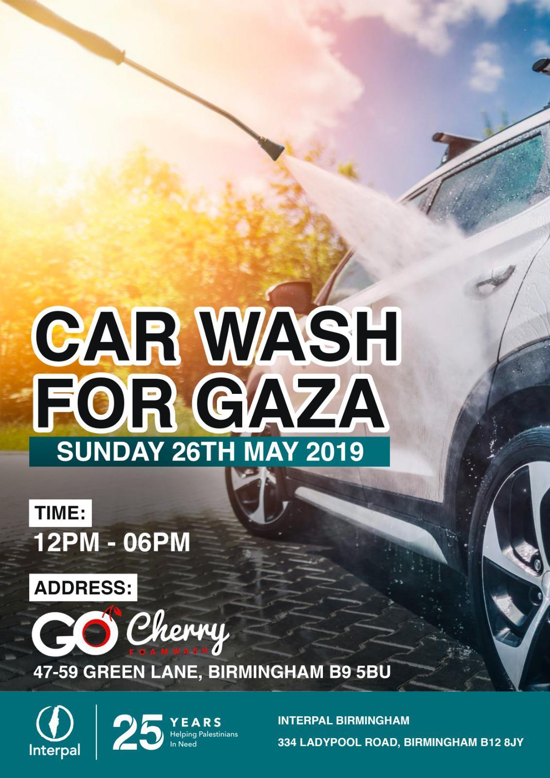 Car Wash for Gaza