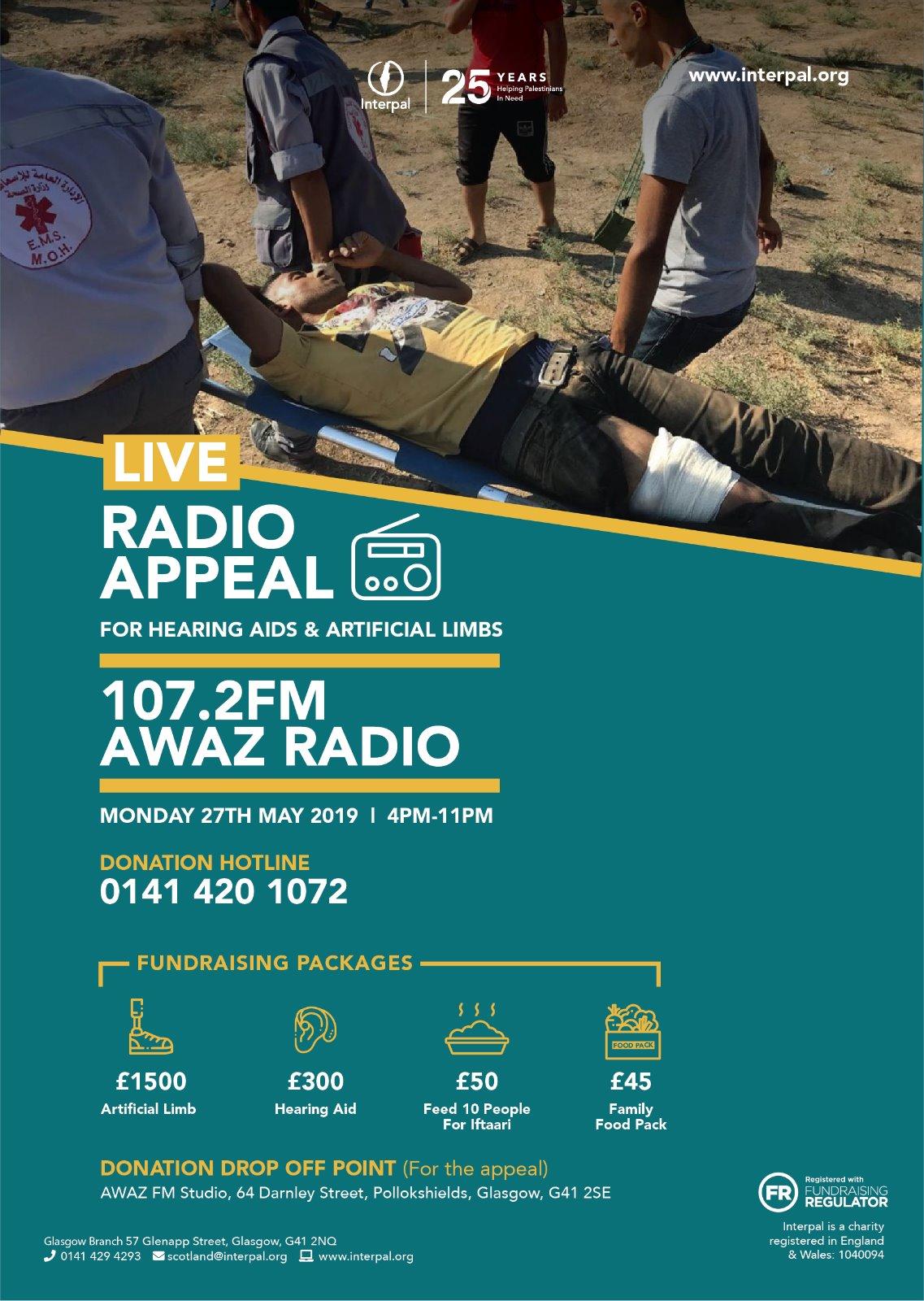 Radio Appeal with Awaz FM
