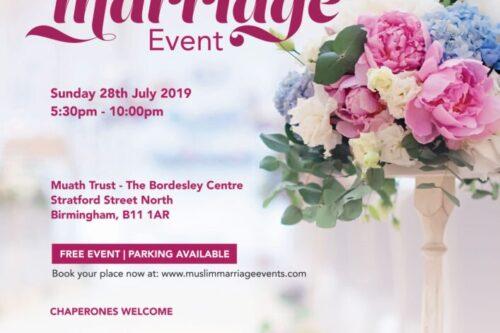 Birmingham Muslim Marriage Event