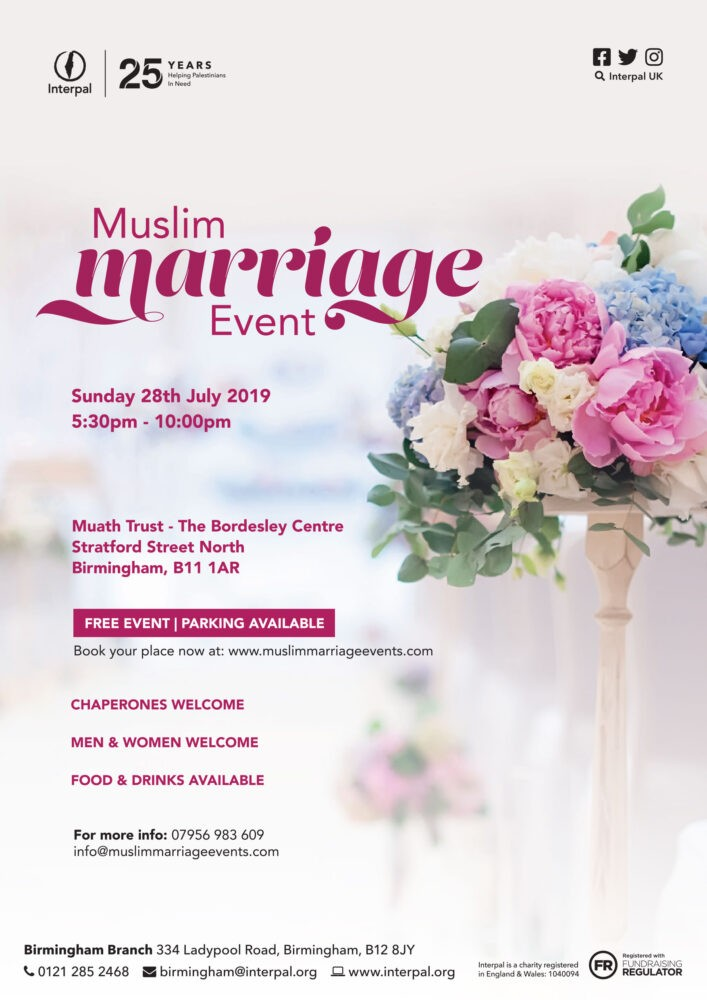Birmingham Muslim Marriage Event