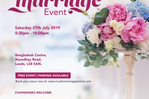 Leeds Muslim Marriage Event