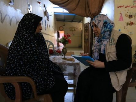 A message to donors from Zaheyya Asad, in northern Gaza