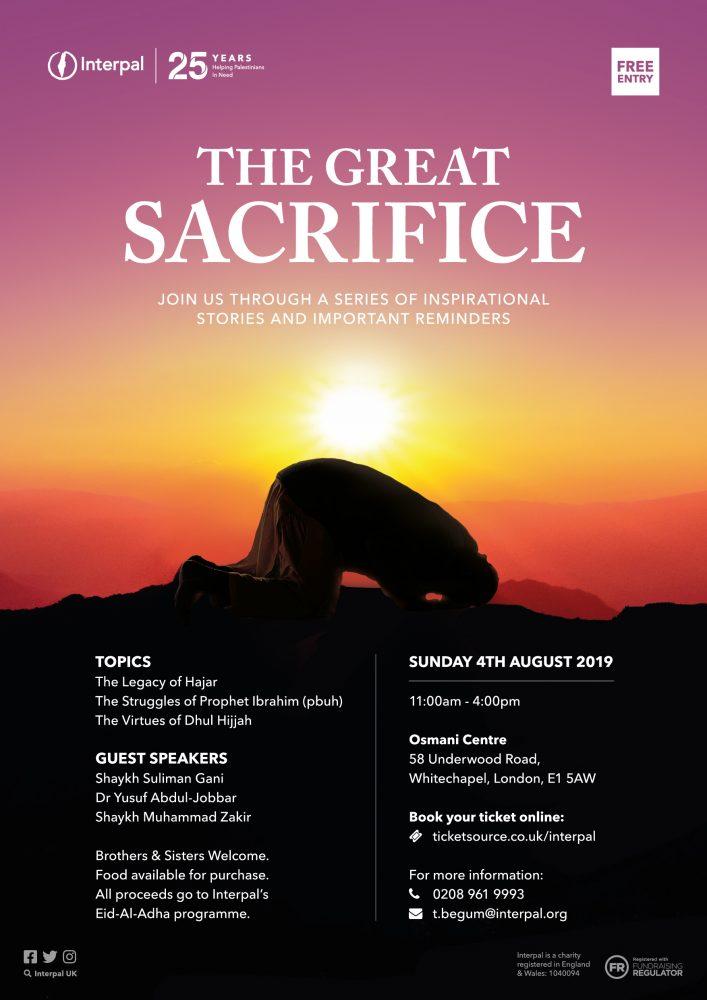 The Great Sacrifice - London