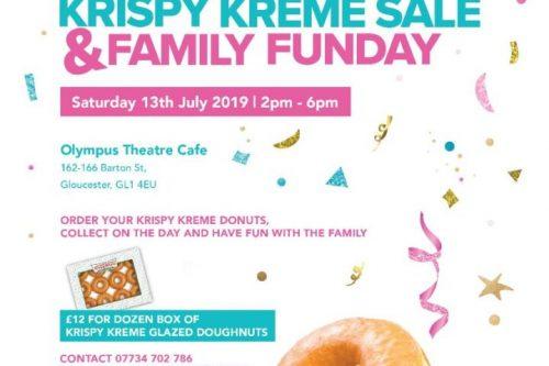 Krispy Kreme Sale & Family Fun Day