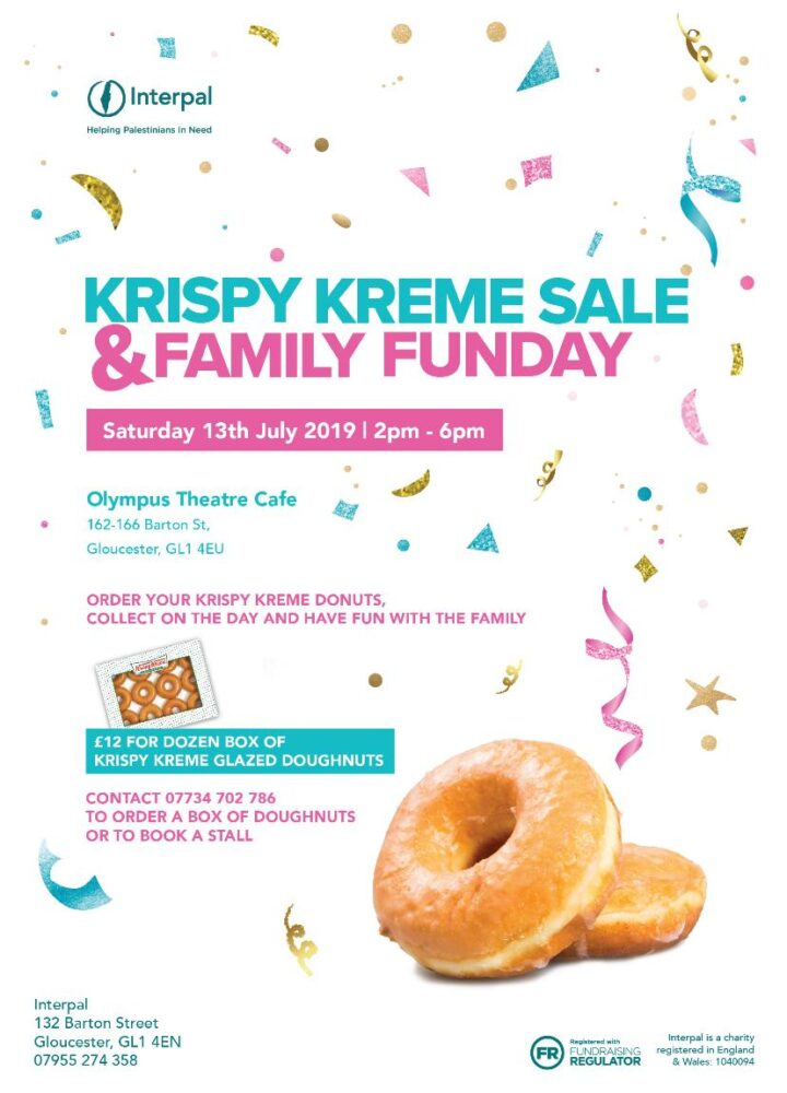 Krispy Kreme Sale & Family Fun Day