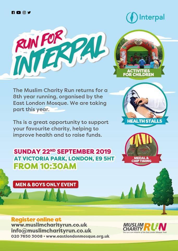 Run for Interpal - Muslim Charity Run