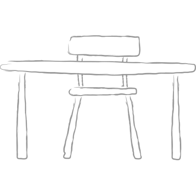 Education Aid - School Table Icon