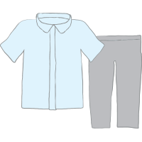 Education Aid - School Uniform Icon
