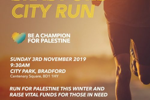 Bradford City Run- Be a Champion for Palestine