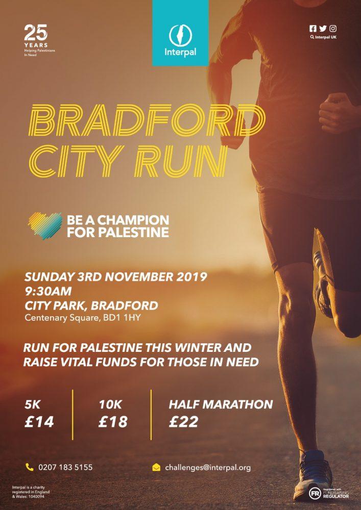 Bradford City Run- Be a Champion for Palestine