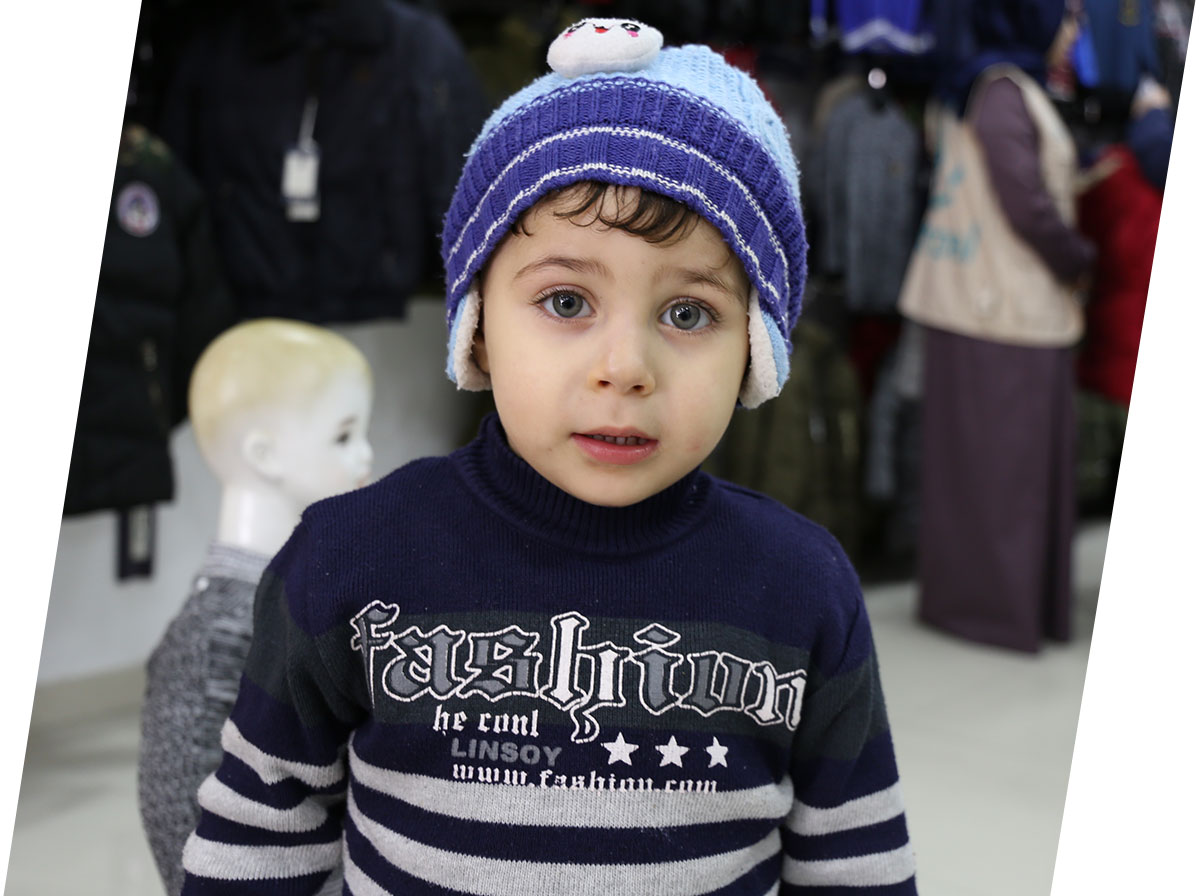 Interpal - Pledge for Palestine - Winter clothes for children