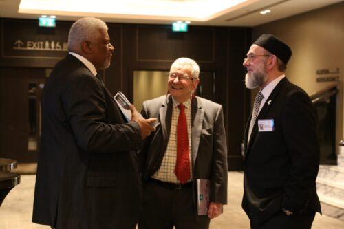 Carl Arrindell, Patrick Orr and Ibrahim Hewitt