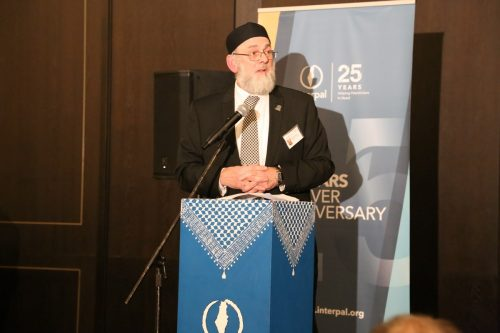 Ibrahim Hewitt, Interpal's Chairman at Interpal's 25th Anniversary Dinner on November 30, 2019