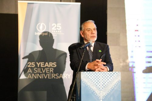 Willayet Khokhar, Muslim Aid at Interpal's 25th Anniversary Dinner on November 30, 2019