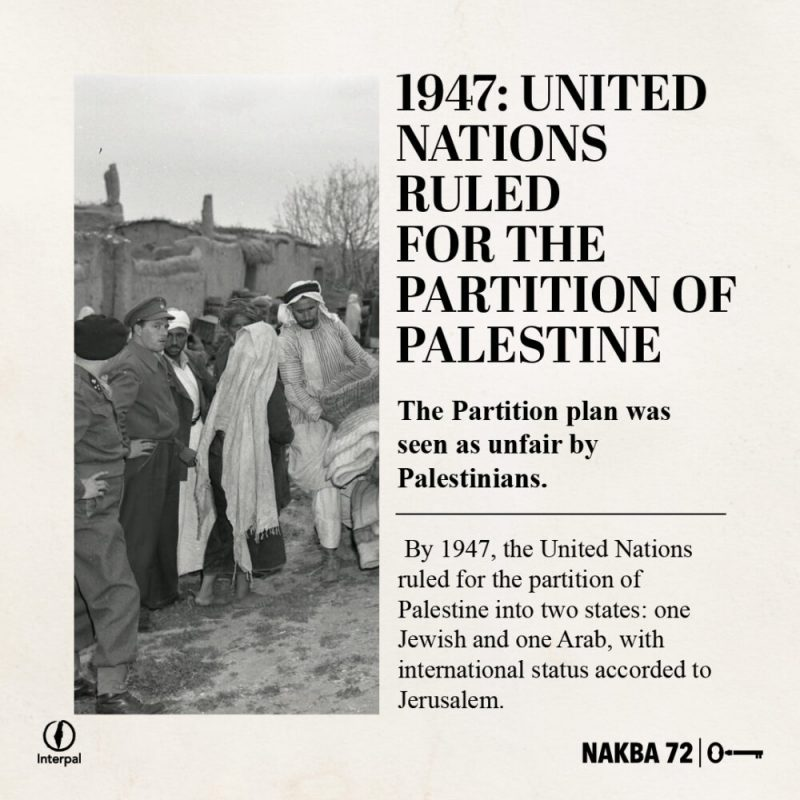 Interpal Nakba 72 Timeline 1947 A