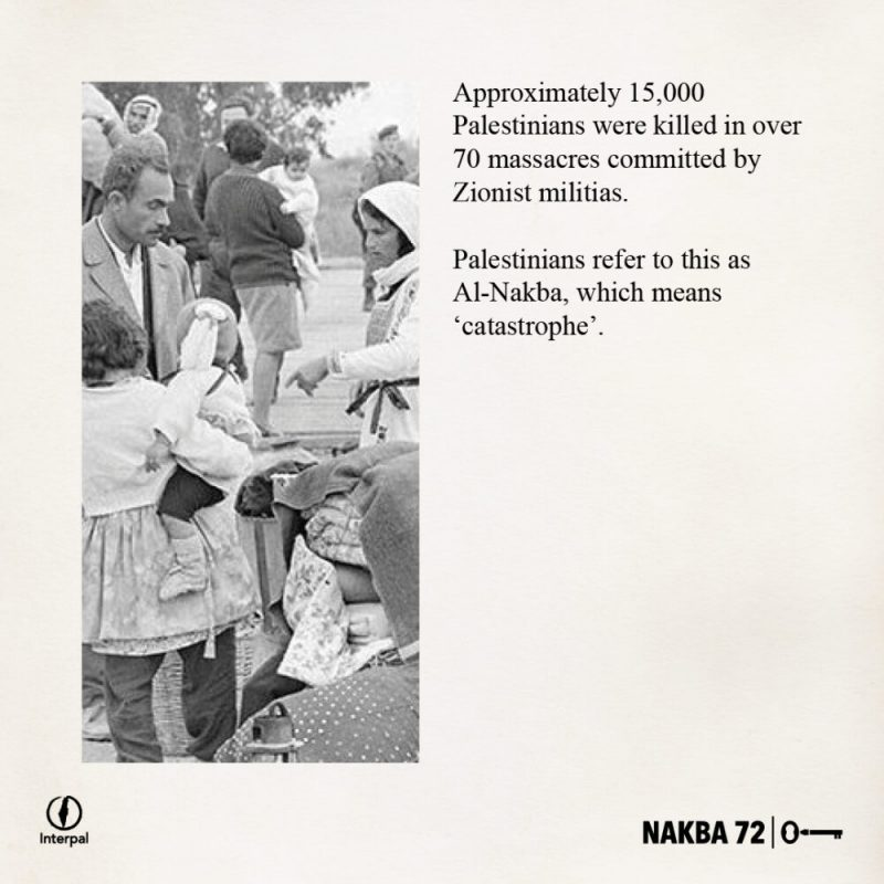 Interpal Nakba 72 Timeline 1948 B