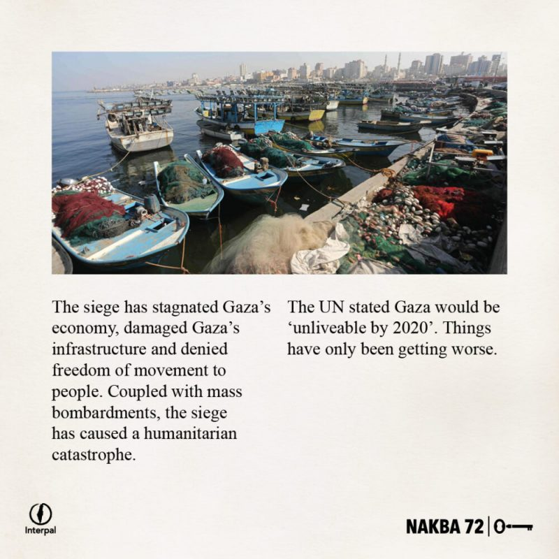 Interpal Nakba 72 Timeline 2007 B