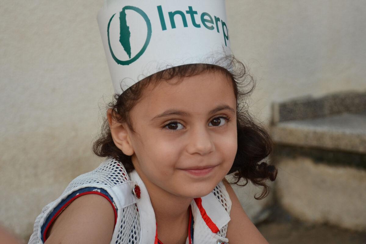 Palestinian Children take part in Eid festivities organised by Interpal in Palestine