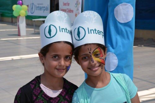 Palestinian Children take part in Eid festivities organised by Interpal in Palestine