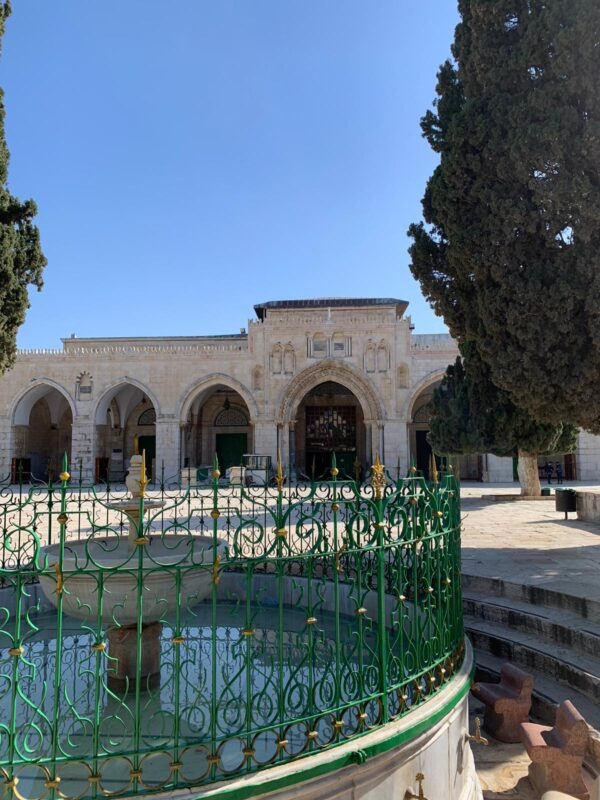 Inside the Al Aqsa Compound