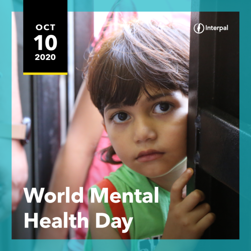Interpal International Days 2020-World Mental Health Day Post